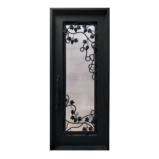 Iron Prehung Front Entry Door