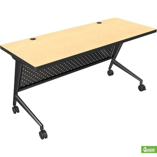60 W Trend Fliptop Training Table with Wheels by B