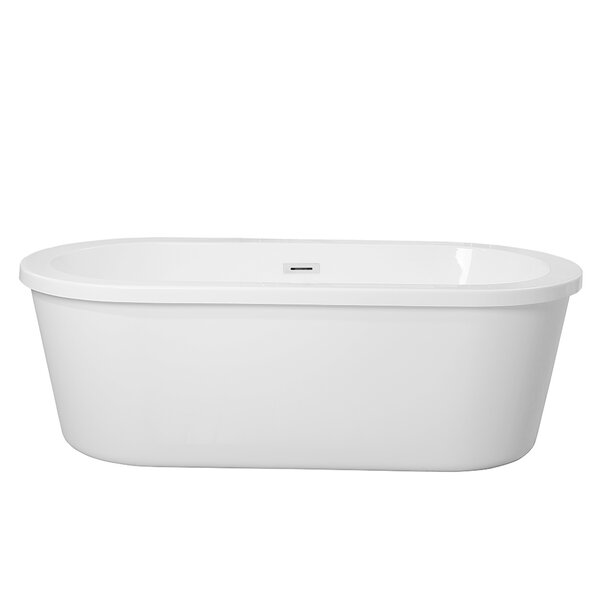 Manningtree 66 x 31 Freestanding Soaking Bathtub by Highland Dunes