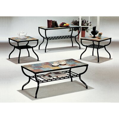 Hull 3 Piece Coffee Table Set Loon Peak