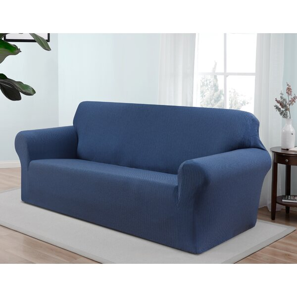 Best #1 Box Cushion Sofa Slipcover By Red Barrel Studio Today Only Sale