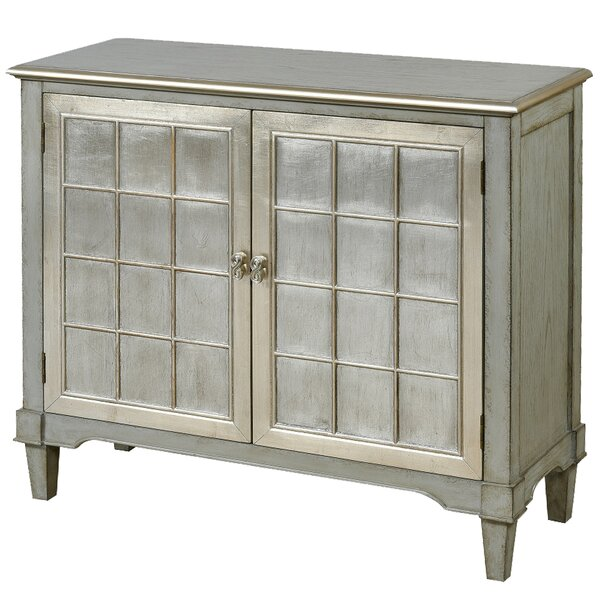 Ahumada Wooden 2 Door Accent Cabinet by House of Hampton House of Hampton