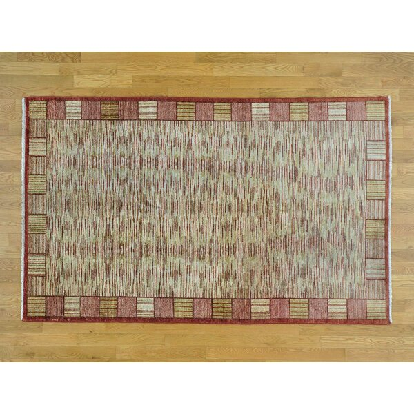 One-of-a-Kind Becker Handwoven Wool Area Rug by Isabelline