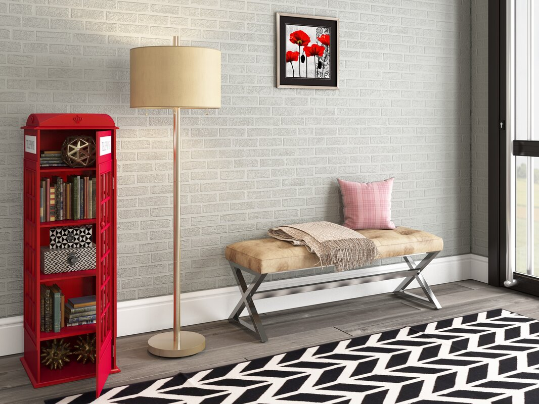 Red Barrel Studio Rodriques Phone Booth Storage Accent Cabinet ...