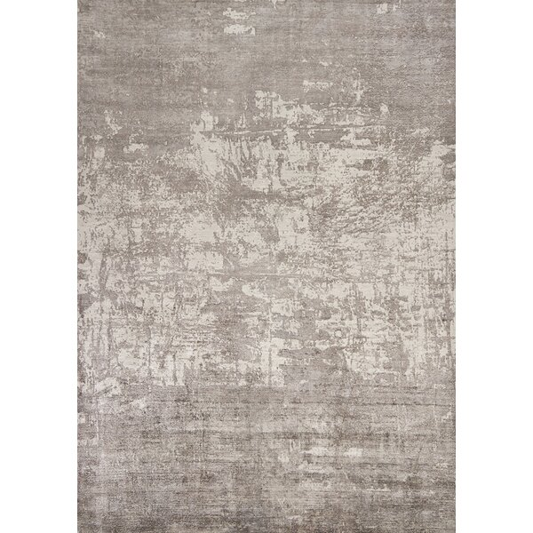 Sylvia Hand-Woven Gray Area Rug by Langley Street