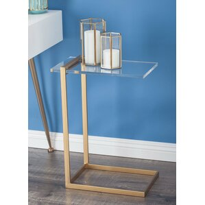 Metal/Acrylic End Table by Cole & Grey