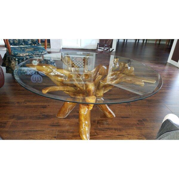 Braydon Root Teak Coffee Table By Union Rustic