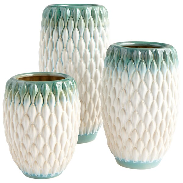 Verdant Sea Table Vase by Cyan Design