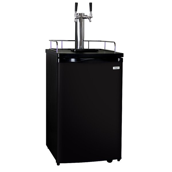 Dual Tap Full Size Kegerator by Kegco