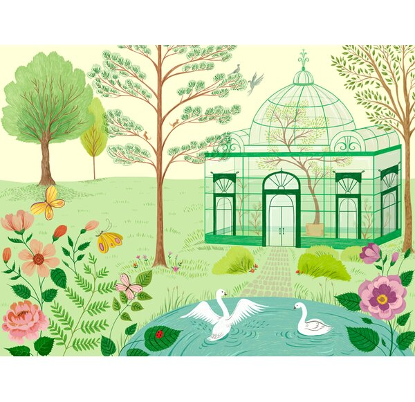Dina Conservatory Canvas Wall Art by Harriet Bee