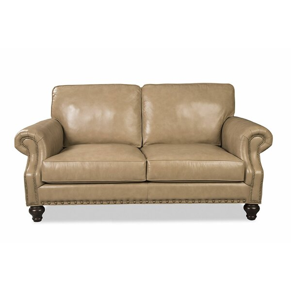 Solerno Leather Loveseat by Craftmaster