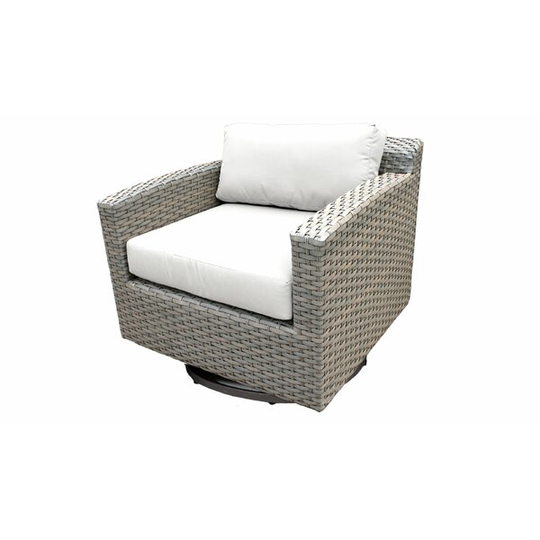 Florence Swivel Chair with Cushions by TK Classics