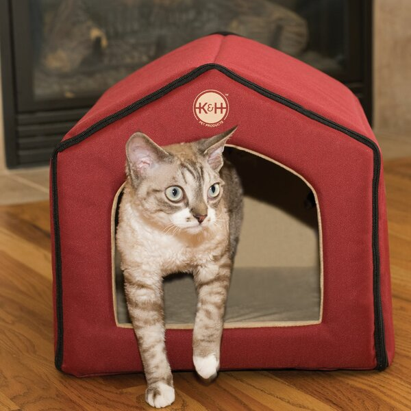 Unheated Indoor Cat House by K&H Manufacturing