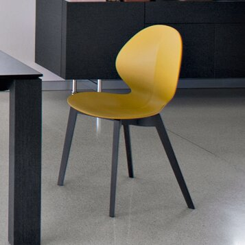 Basil W Dining Chair by Calligaris
