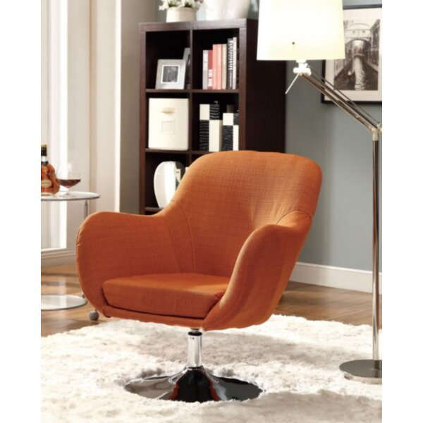 Nicolle Swivel Armchair by Ivy Bronx