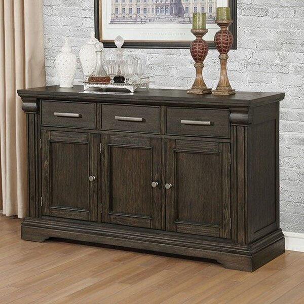 Faulk 60-inch Wide 3 Drawer Sideboard by Williams Import Co. Williams Import Co.