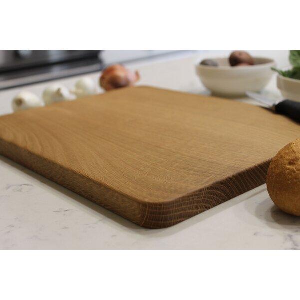 Oak Wood Cutting Board by Etchey