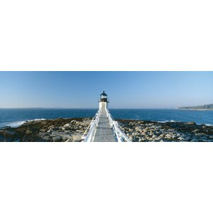 Marshall Point Lighthouse, Port Clyde, St. George, Knox County, Maine, USA by Panoramic Images Photographic Print on ... by East Urban Home