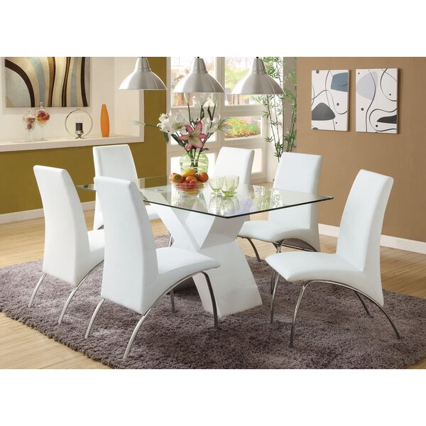 Rushing 7 Piece Dining Set by Orren Ellis
