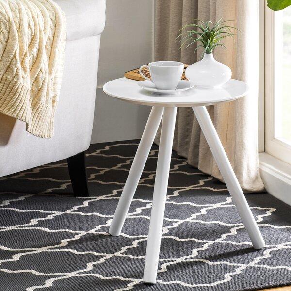Blinda Solid Color Modernized End Table by Ebern Designs Ebern Designs