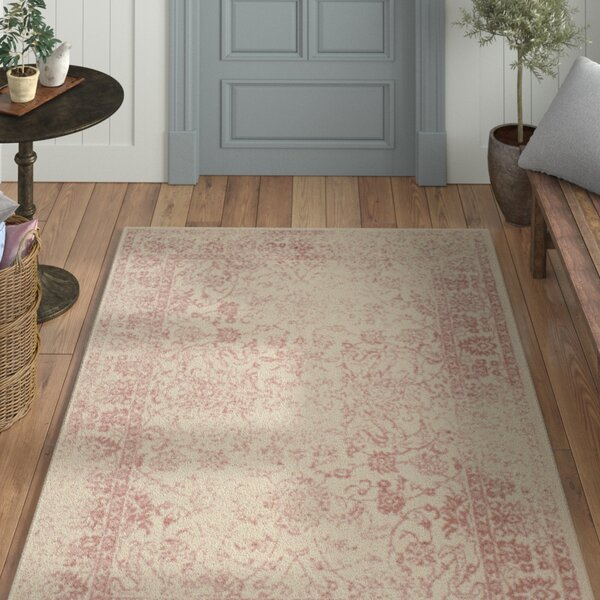 Howton Ivory/Rose Area Rug by Laurel Foundry Modern Farmhouse