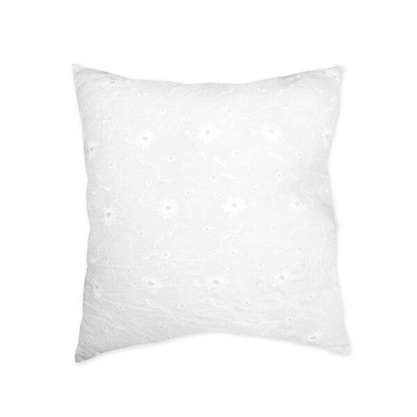 Eyelet Cotton Throw Pillow by Sweet Jojo Designs