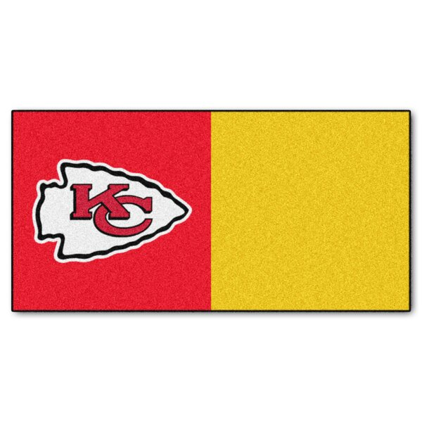 NFL Team 18 x 18 Carpet Tile (Set of 20) by FANMATS