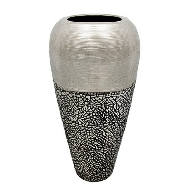 Cylinder Ceramic Table Vase by Wrought Studio