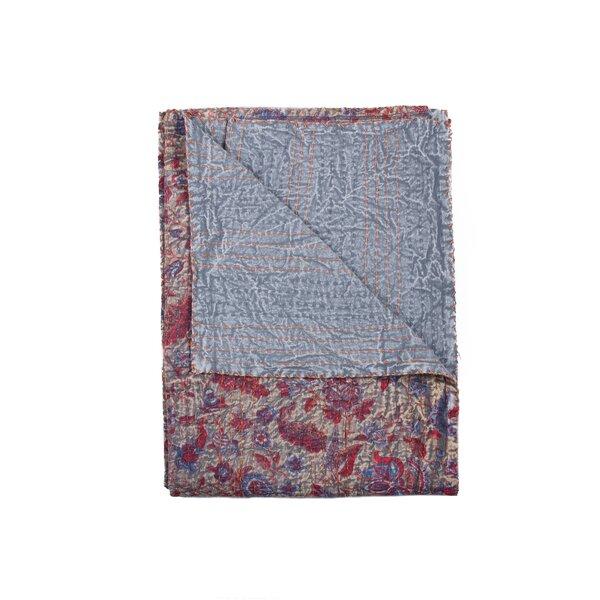 Kantha Handmade Cotton Throw by Taj Hotel