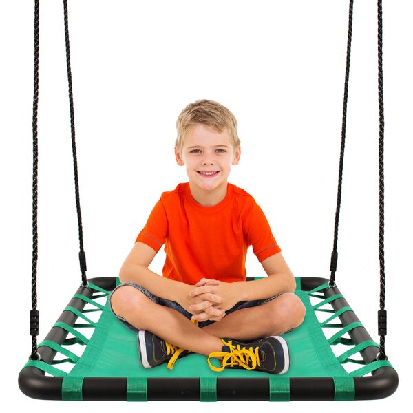 Platform Swing Seat With Straps by Khomo Gear
