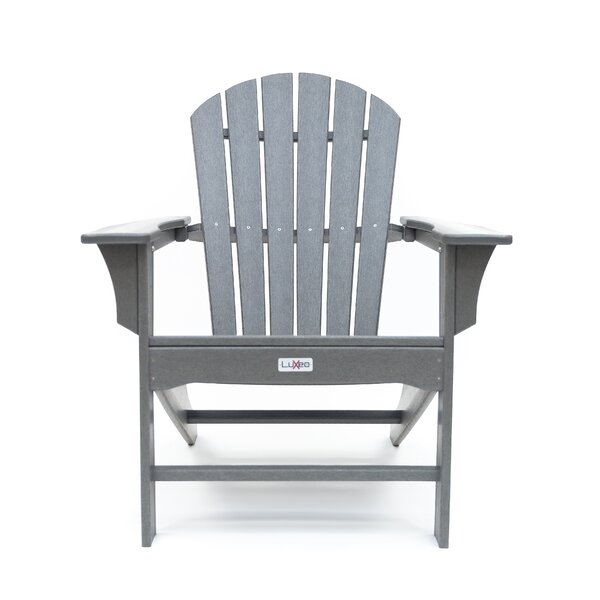 Corinne Poly Plastic Adirondack Chair by Longshore Tides