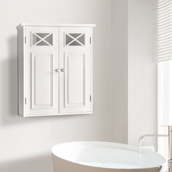 Bourgoin 20'' W x 24'' H x 7'' D Free-Standing Bathroom Cabinet