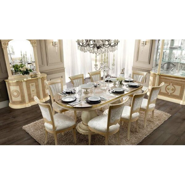Chalgrave Extendable Solid Wood Dining Table by Rosdorf Park Rosdorf Park