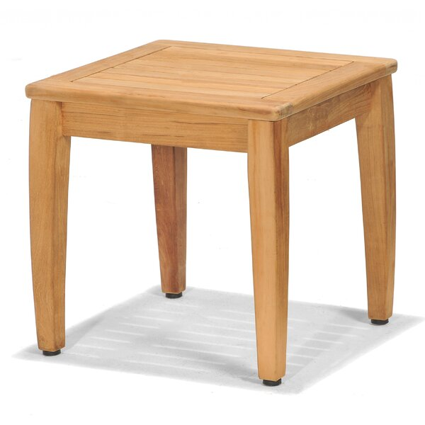 Beethoven Solid Wood Side Table by Winston Porter