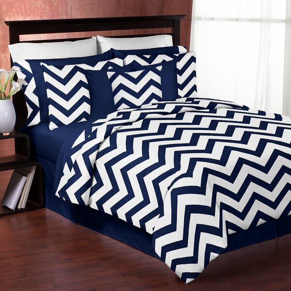 Chevron 3 Piece Comforter Set by Sweet Jojo Designs