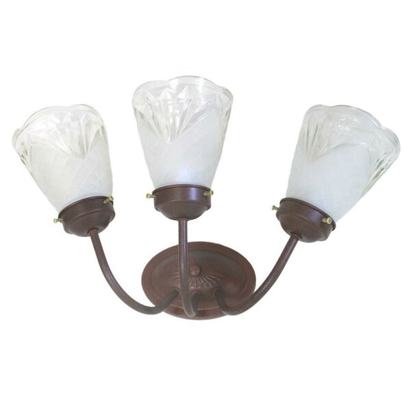 Bryant 3-Light Vanity Light by Fleur De Lis Living