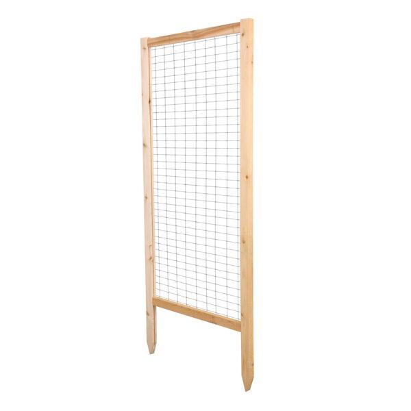 Critter Guard Garden Wood Lattice Panel Trellis Set (Set of 2) by Greenes Fence