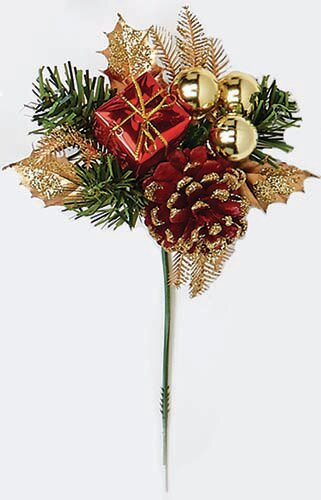 Cone Gift Ball Pick (Set of 12) by The Holiday Aisle