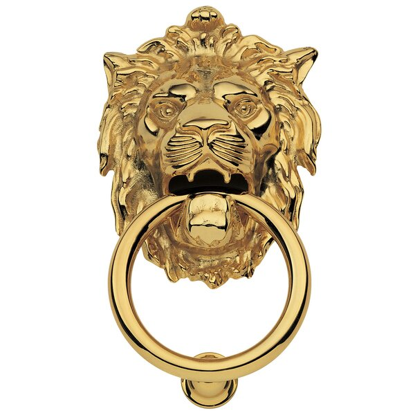 Leone Door Knocker by Acorn