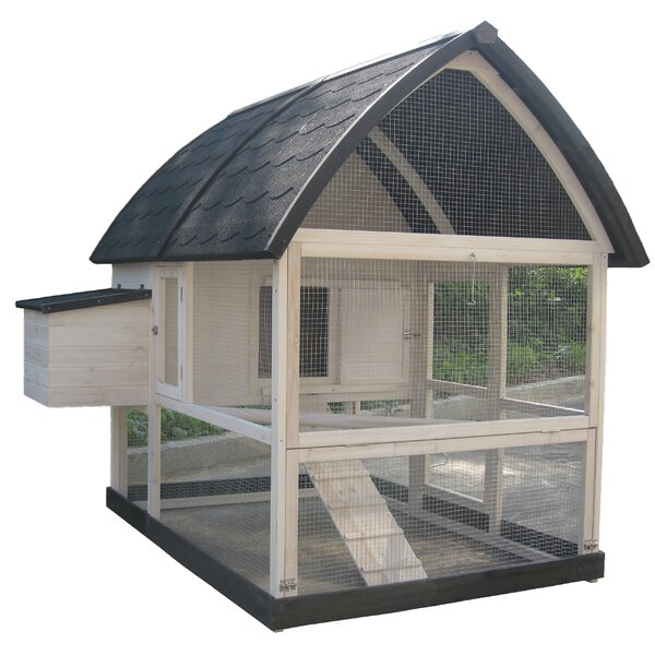 Coops & Feathers™ Country Chicken Coop by Innovation Pet