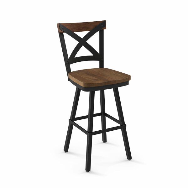 Kirsten 46.38 Swivel Bar Stool by Union RusticKirsten 46.38 Swivel Bar Stool by Union Rustic