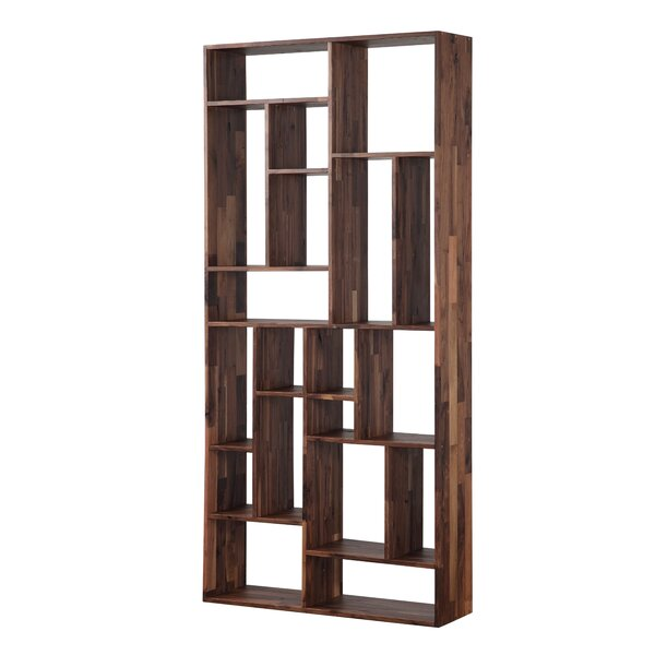 Blevens Geometric Bookcase By Union Rustic