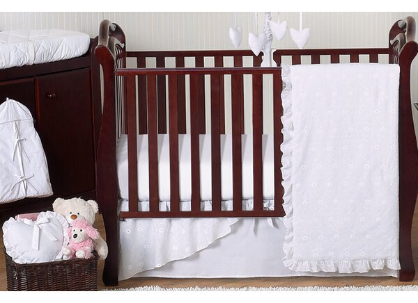 Eyelet 11 Piece Crib Bedding Set by Sweet Jojo Designs