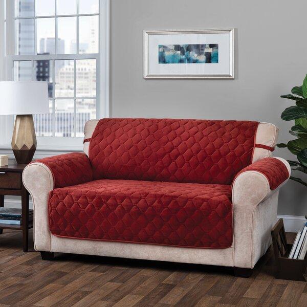 T-Cushion Sofa Slipcover By Alcott Hill