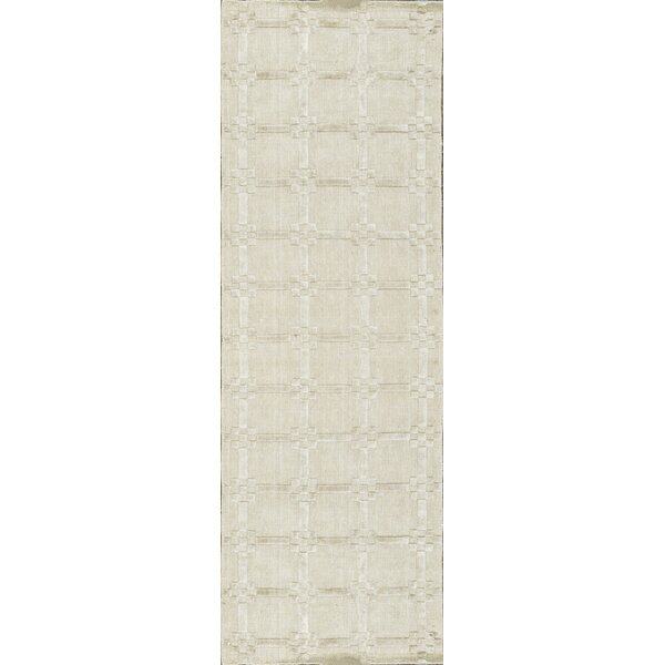 One-of-a-Kind Hand-Knotted Beige Indoor Area Rug by Bokara Rug Co., Inc.