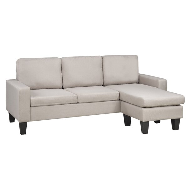 Anamara Reversible Sectional By Wrought Studio
