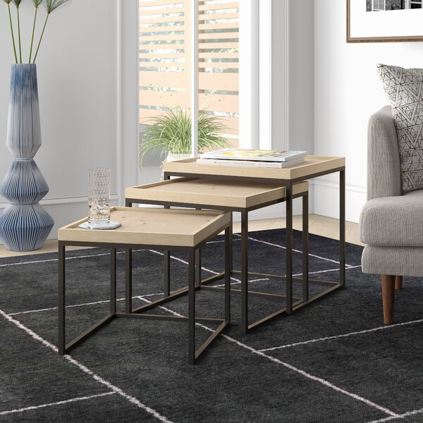 Braydon 3 Piece Nesting Tables By Langley Street™
