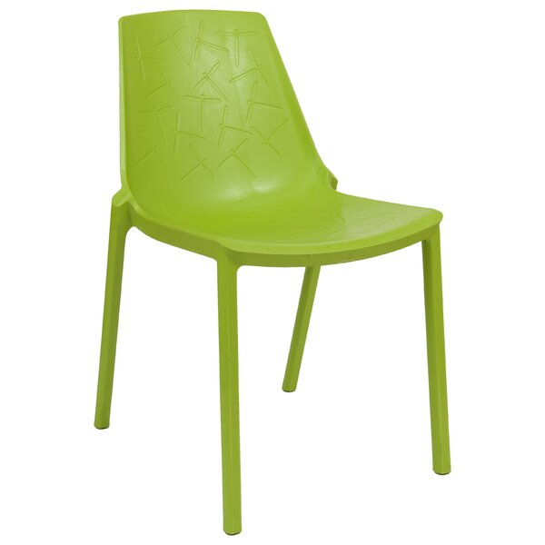 Clover Side Chair by LeisureMod