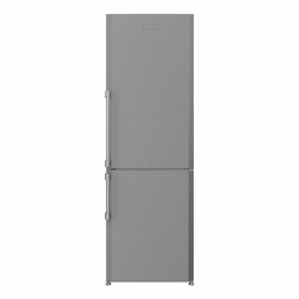 24 Energy Star Counter Depth Bottom Freezer 11.35 cu. ft. Refrigerator with Internal Ice Maker