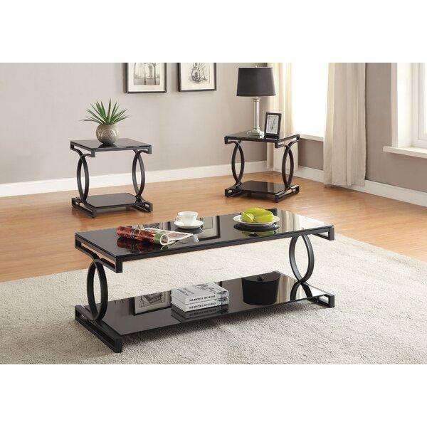 Milo 3 Piece Coffee Table Set by A&J Homes Studio